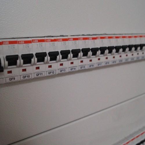 Монтаж электрощитового оборудования. Электромонтажные работы